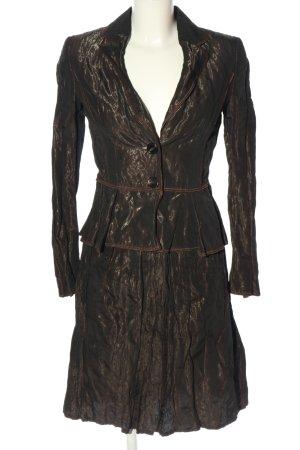 Strenesse Gabriele Strehle Kostüm bronzefarben Elegant