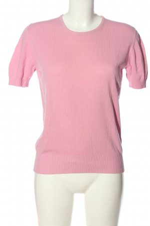Strenesse Gabriele Strehle Jersey de manga corta rosa look casual