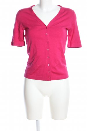 Strenesse Gabriele Strehle Short Sleeve Knitted Jacket pink casual look