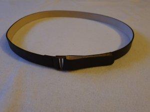 Strenesse Gabriele Strehle Cinturón de cuero marrón oscuro