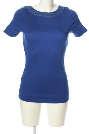 Strenesse Gabriele Strehle Longshirt blau Casual-Look