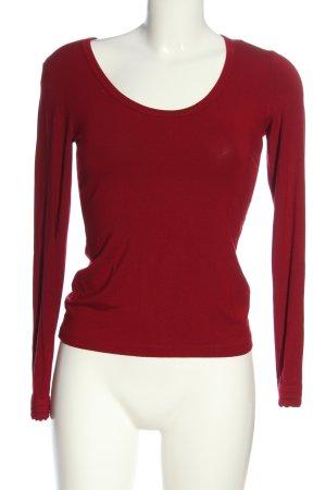 Strenesse Gabriele Strehle Longsleeve red casual look