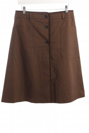 Strenesse Gabriele Strehle Spódnica midi brązowy-ciemnobrązowy Elegancki