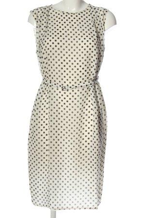 Strenesse Gabriele Strehle Mini Dress natural white-black spot pattern