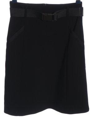 Strenesse Gabriele Strehle Mini rok zwart zakelijke stijl