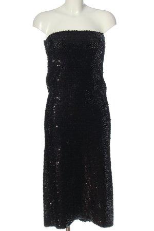 Strenesse Gabriele Strehle Robe à paillettes noir élégant