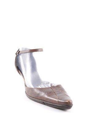 Strenesse Gabriele Strehle Riemchen-Sandaletten braun Casual-Look