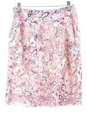 Strenesse Gabriele Strehle Seidenrock florales Muster Casual-Look