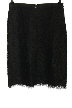 Strenesse Gabriele Strehle Spitzenrock schwarz Elegant