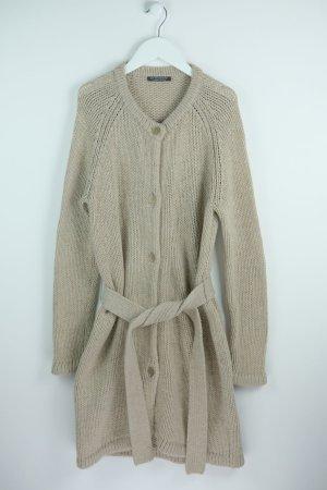 Strenesse Cappotto a maglia sabbia Lana