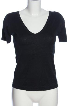 Strenesse Gabriele Strehle T-Shirt schwarz meliert Casual-Look