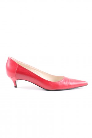 Strenesse Gabriele Strehle T-Steg-Pumps rot Business-Look