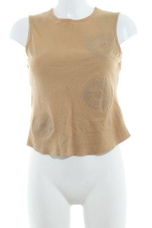 Strenesse Gabriele Strehle Tanktop beige Casual-Look