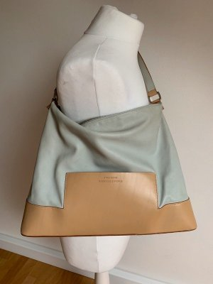 Strenesse Gabriele Strehle Hobos baby blue-nude leather