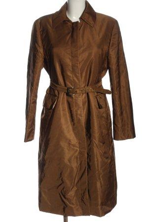 Strenesse Gabriele Strehle Between-Seasons-Coat brown casual look