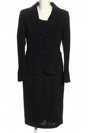 Strenesse Gabriele Strehle Woven Twin Set black business style