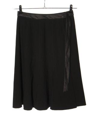 Strenesse Gabriele Strehle Wraparound Skirt black business style