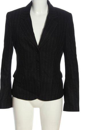Strenesse Gabriele Strehle Blazer de lana negro-blanco elegante