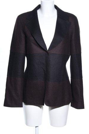 Strenesse Gabriele Strehle Wool Blazer black-brown business style