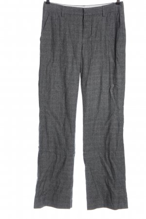 Strenesse Gabriele Strehle Woolen Trousers light grey-white allover print