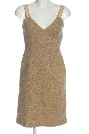 Strenesse Gabriele Strehle Robe en laine brun style décontracté