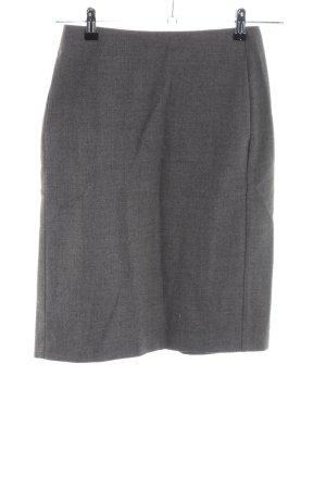 Strenesse Gabriele Strehle Falda de lana gris claro moteado estilo «business»