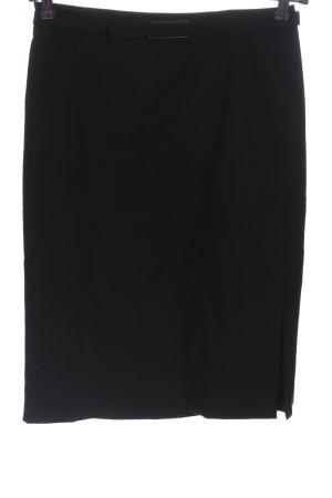 Strenesse Gabriele Strehle Jupe en laine noir style décontracté