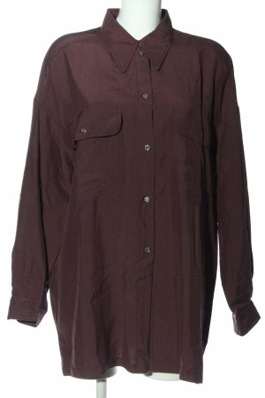 Strenesse Hemd-Bluse lila Casual-Look