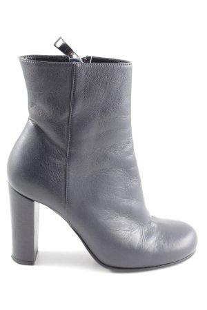 Strenesse High Heel Stiefel blau Casual-Look
