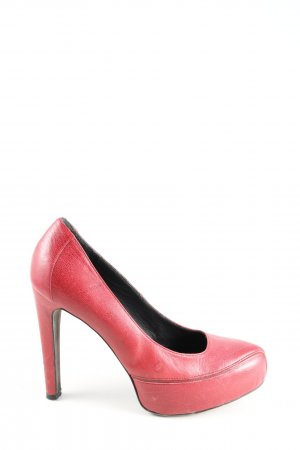 Strenesse High Heels rot Casual-Look