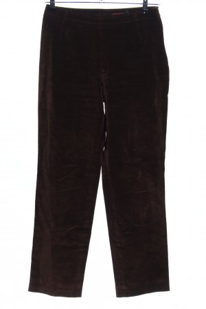 Strenesse High-Waist Hose braun Casual-Look