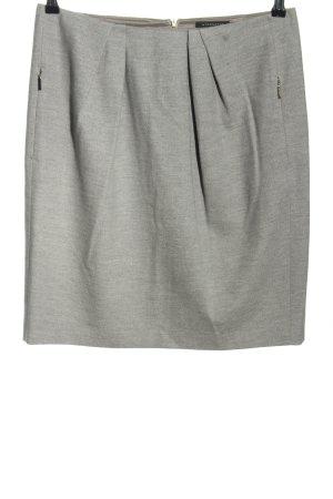 Strenesse Falda de talle alto gris claro moteado