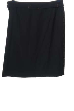 Strenesse High Waist Rock schwarz Business-Look