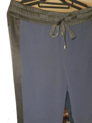 Strenesse Pantalón boyfriend negro-azul oscuro