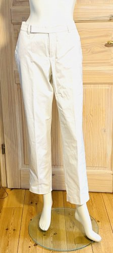 Strenesse Peg Top Trousers white cotton