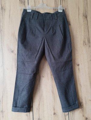 Strenesse Pantalón de lana gris oscuro