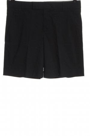 Strenesse Pantalón corto negro estilo «business»