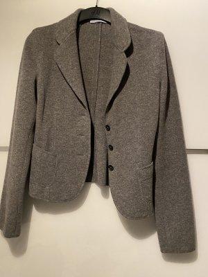 Strenesse Blazer en maille tricotée gris