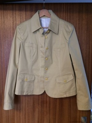 Strenesse Jacke, Blazer, beige, Größe 40 (L)