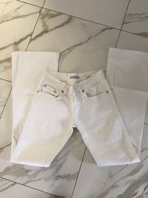 Blue Strenesse Jeans large blanc