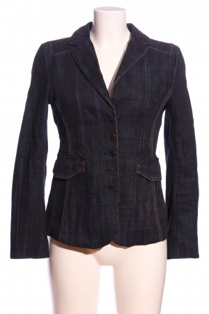 Strenesse Jeansblazer schwarz Business-Look