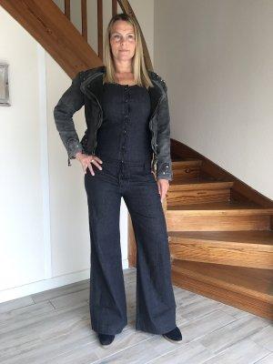 Strenesse Jumpsuit blau Casual-Look keine Textilangabe