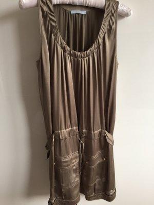 Blue Strenesse Shortsleeve Dress grey brown-green grey