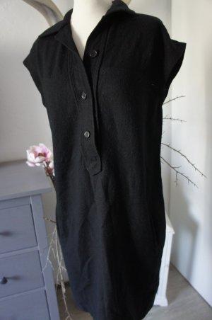 Strenesse Kleid 42 Wolle schwarz