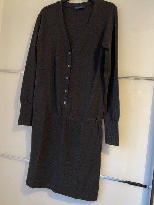 Strenesse Vestido de tela de sudadera gris antracita