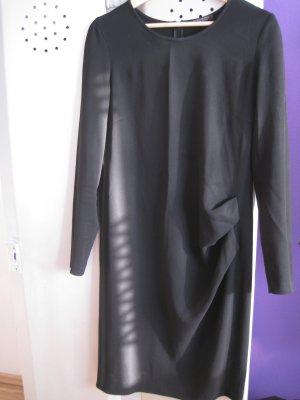 Strenesse Kleid Schwarz mit seitlicher Drapierung Gr.38