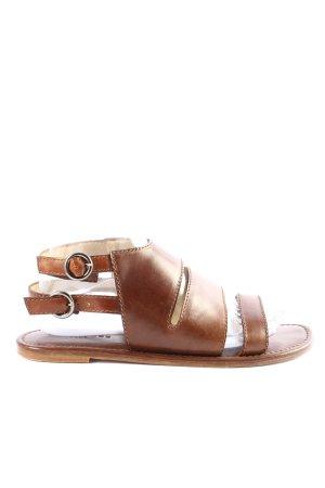 Strenesse Comfortabele sandalen bruin casual uitstraling