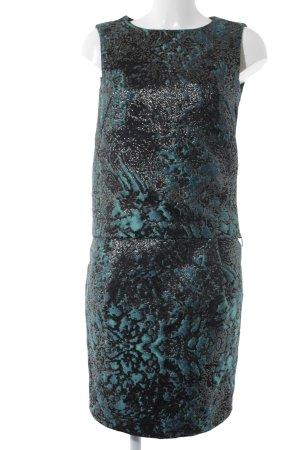 Strenesse Kostüm schwarz-kadettblau Elegant