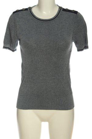 Strenesse Blouse à manches courtes gris clair style décontracté