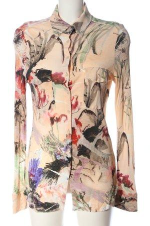 Strenesse Camisa de manga corta estampado con diseño abstracto look casual